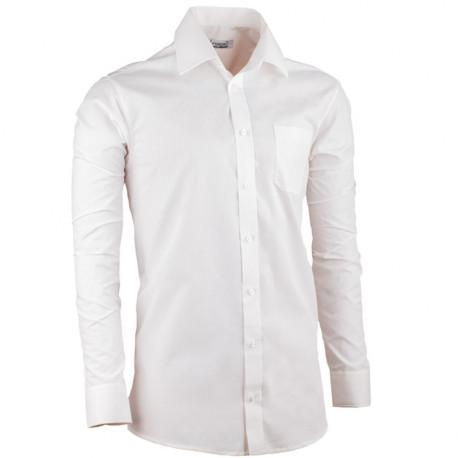 Smetanová pánská košile regular fit s dlouhým rukávem Aramgad 30281