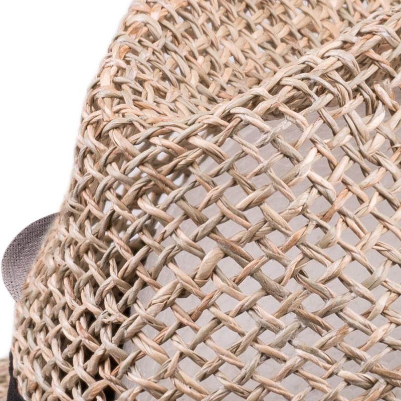 539352157 Slaměný klobouk béžový Assante 80008