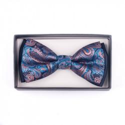 Pánský motýlek barva modro fialová Assante 90234