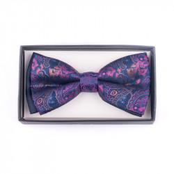 Pánský motýlek barva modrá-fialová Assante 90387