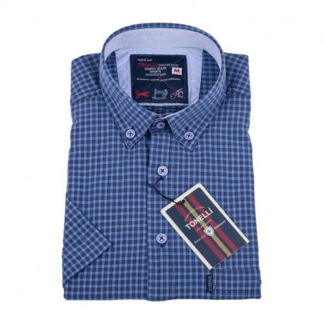 Modrá košile Tonelli 110849