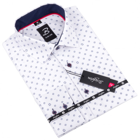 Košile Brighton bílá 110014
