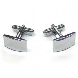 Manžetové knoflíčky stříbrné barvy Assante 90535