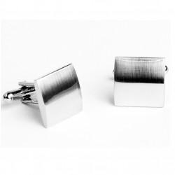Manžetové knoflíčky stříbrné barvy Assante 90519