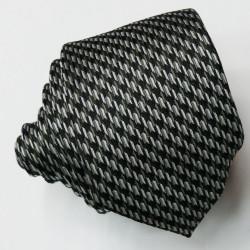 Šedá úzká kravata Greg 99011