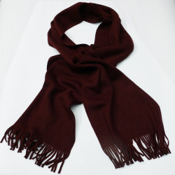 Bordó červená šála – šál Assante 89065