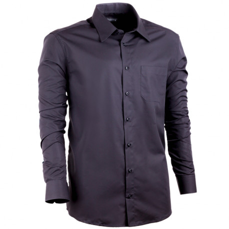 Extra prodloužená nadměrná košile černá Assante 21025