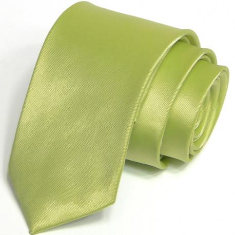 Zelená kravata jednobarevná Greg 99950
