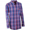 Pánská košile modrá dlouhý rukáv Tonelli 110921