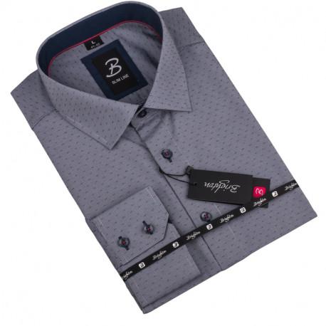 Košile Brighton šedá 110034