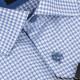 Nadměrná košile modrá Brighton 110042
