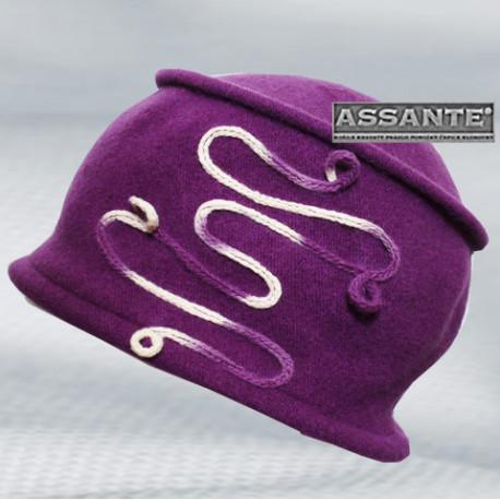 Fialová čepice dámská Anytra 87158
