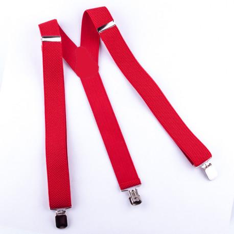 Červené kšandy Assante 90188