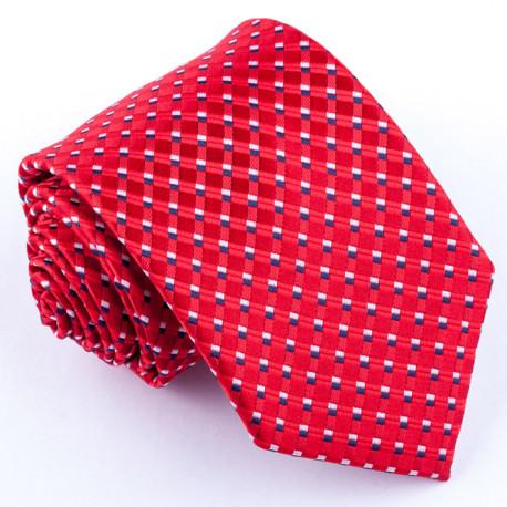 Červená pánská kravata Rene Chagal 93024