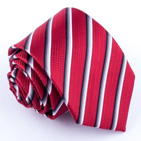 Červená kravata Greg 93040