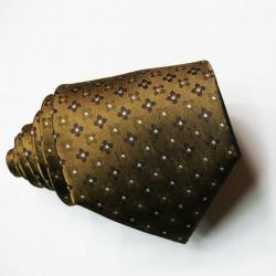 Pánská hnědá kravata Greg 92912