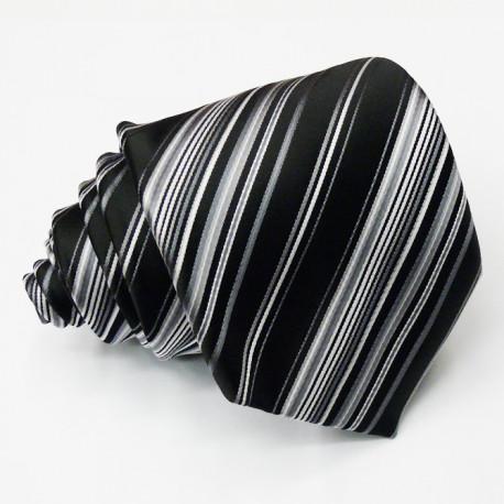 Černá kravata Greg 91014