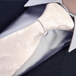 Svatební kravata bílá Greg 91068