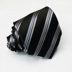 Černá kravata Greg 91077