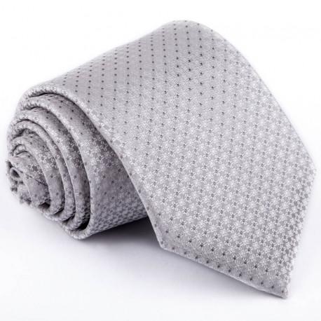 Šedá svatební kravata Greg 91079