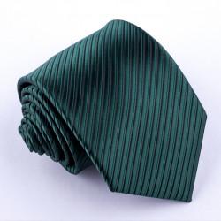 Zelená pánská kravata klasická společenská Greg 95005