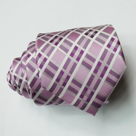 Pánská fialová kravata Greg 96004
