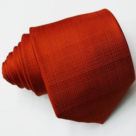 Pánská oranžová kravata Rene Chagal 97000