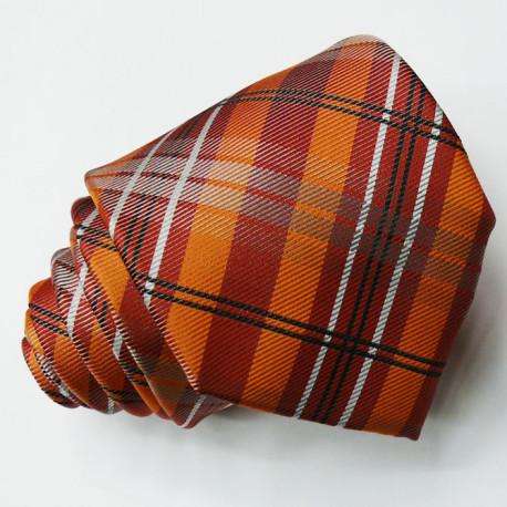 Oranžová kravata Greg 97002