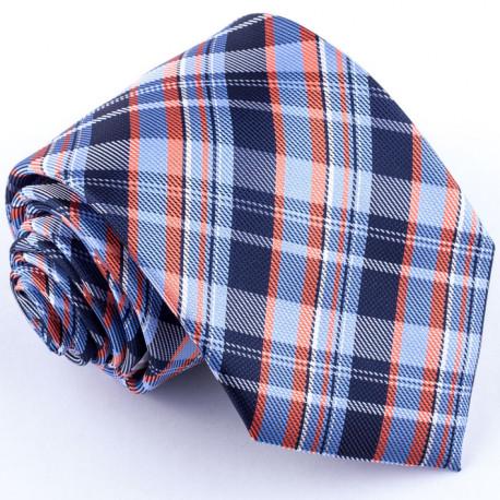 Modrá kravata Greg 94061
