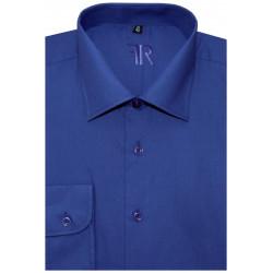 Modrá pánská košile s dlouhým rukávem Friends and Rebels 30416