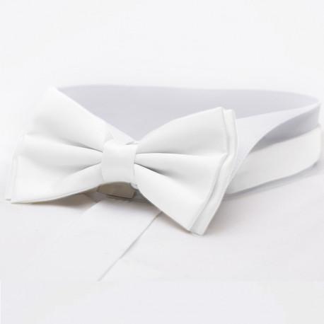 Bílý motýlek pánský Assante 90304