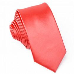 Úzká červená kravata Greg 99134