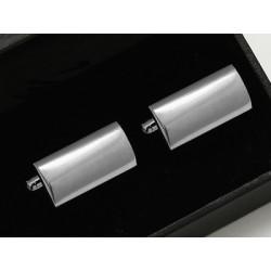 Manžetové knoflíčky stříbrné barvy Assante 90537