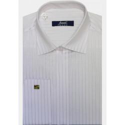 Bílá pánská košile s dlouhým rukávem rovná Assante 30034 8fb97eb64d