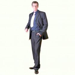 Šedý pánský oblek společenský Galant 160602
