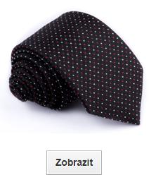 černé kravaty klasické