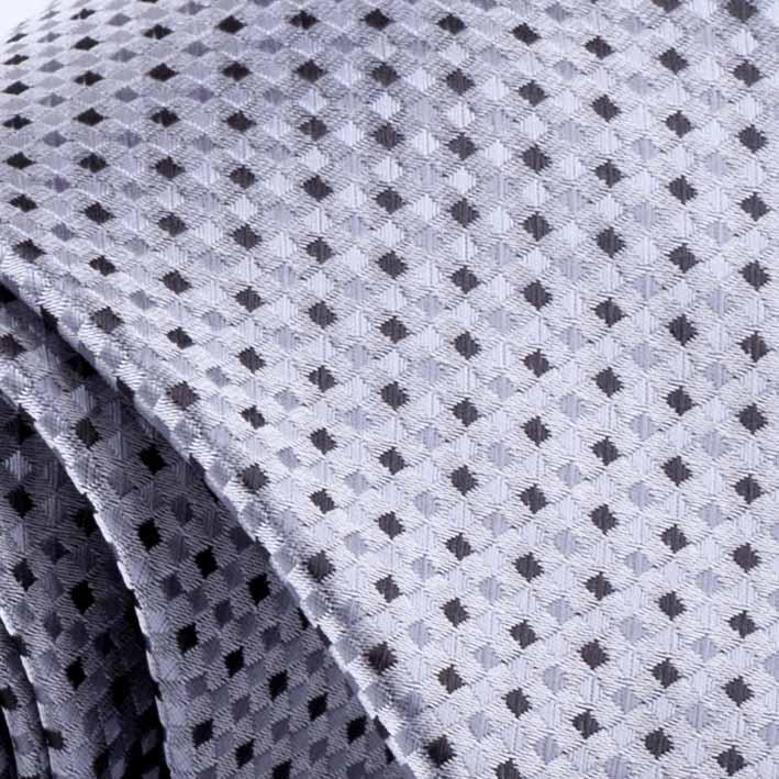 šedá kravata luxusní