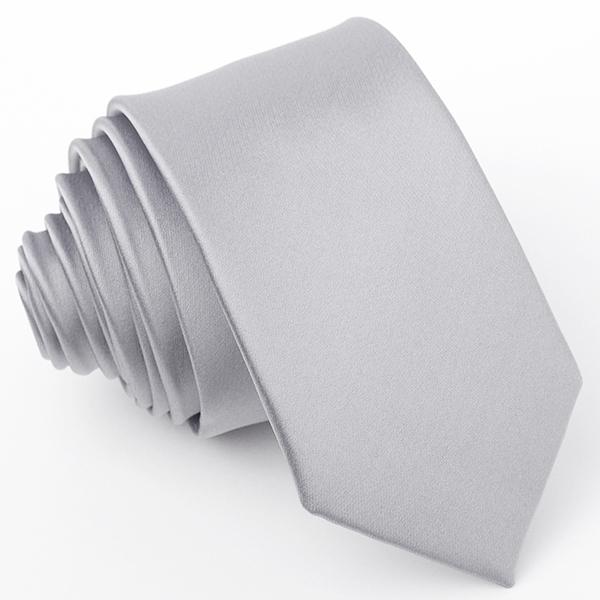 šedá kravata světlá