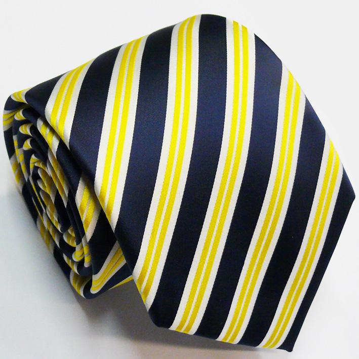 žlutá kravata elegantní