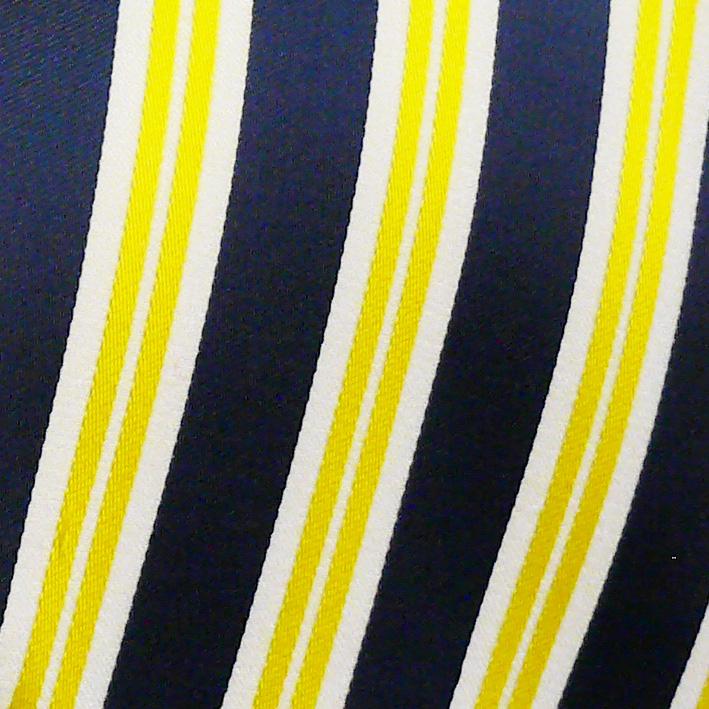 žlutá-modrá kravata