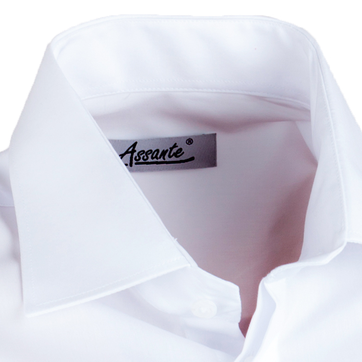 Bílá košile límec