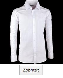 Bílé košile extra prodloužené