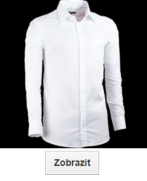 Bílé košile nadměrné