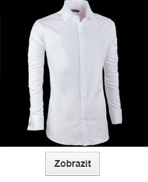 Bílé košile slavnostní