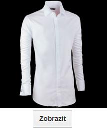 Bílé košile ultra slim