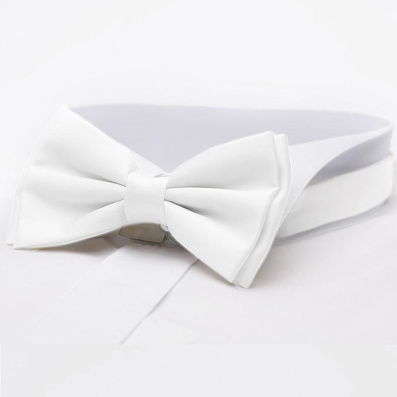 Svatební motýlky bílé
