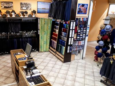 Prodejna pánská móda Brno