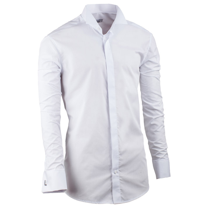 Svatební pánské košile prodloužené