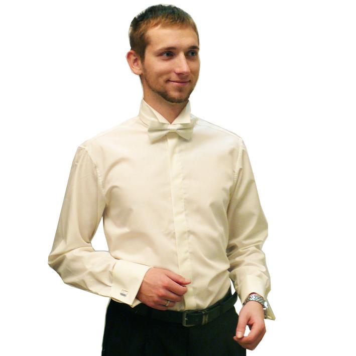 Svatební košile frakové