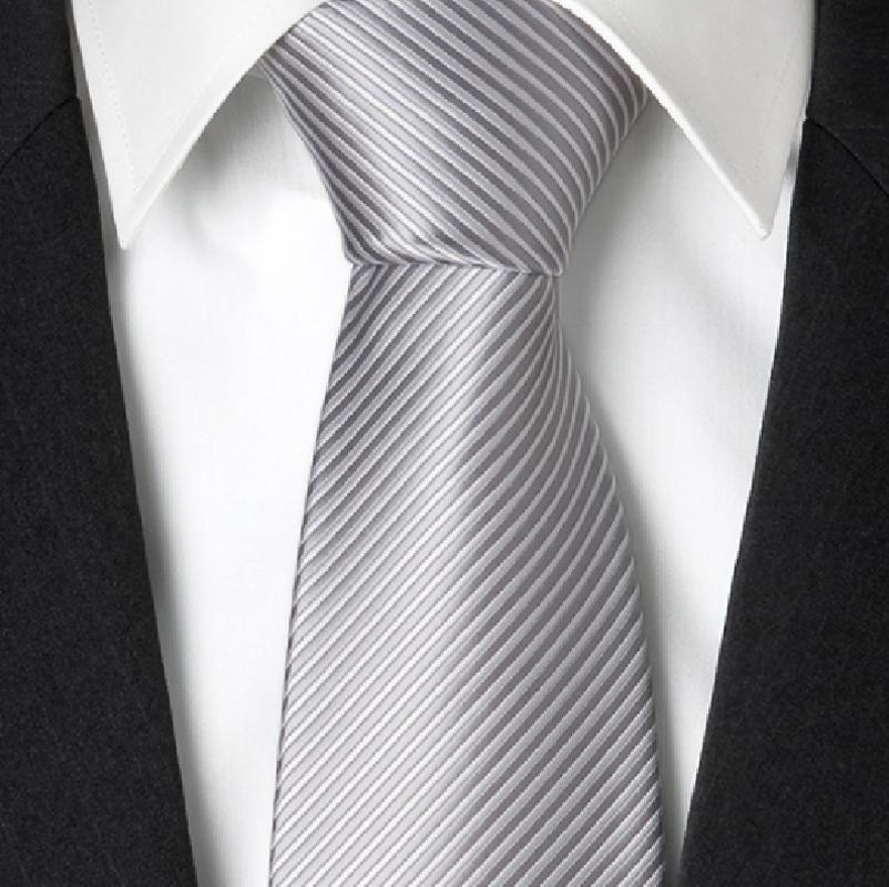 Svatební kravaty šedé